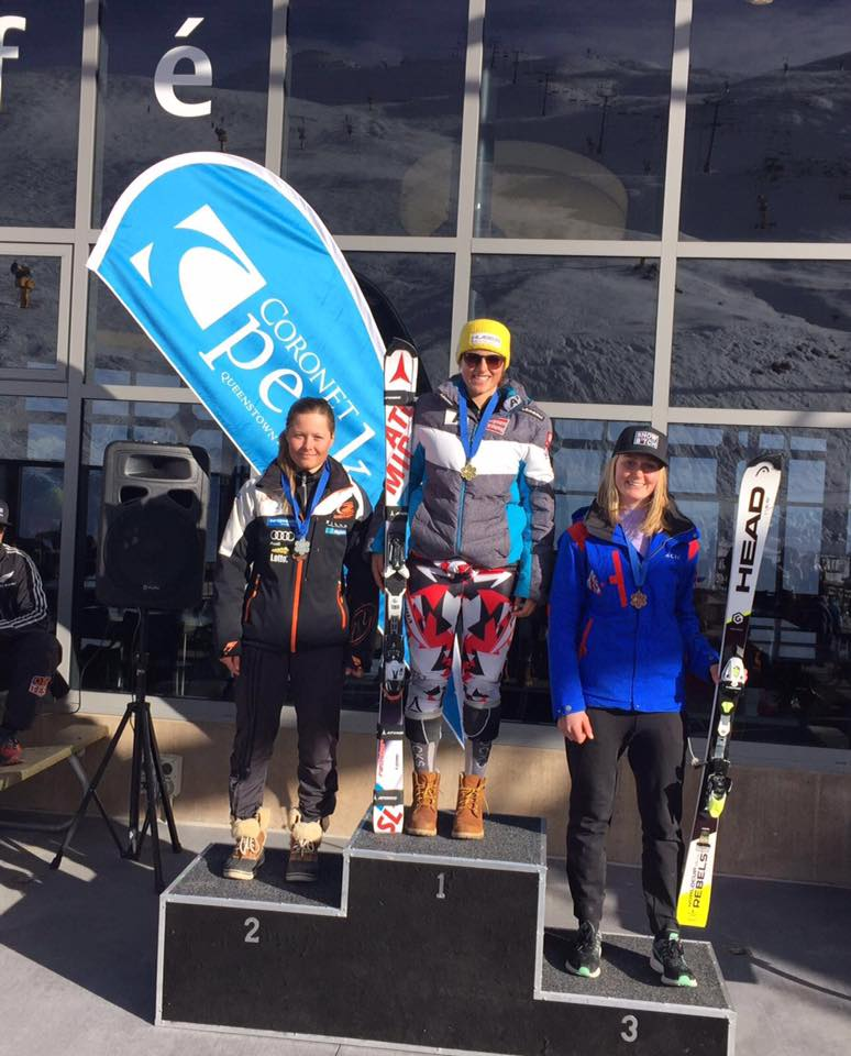 Katharina Huber gewinnt Slalom in Neuseeland