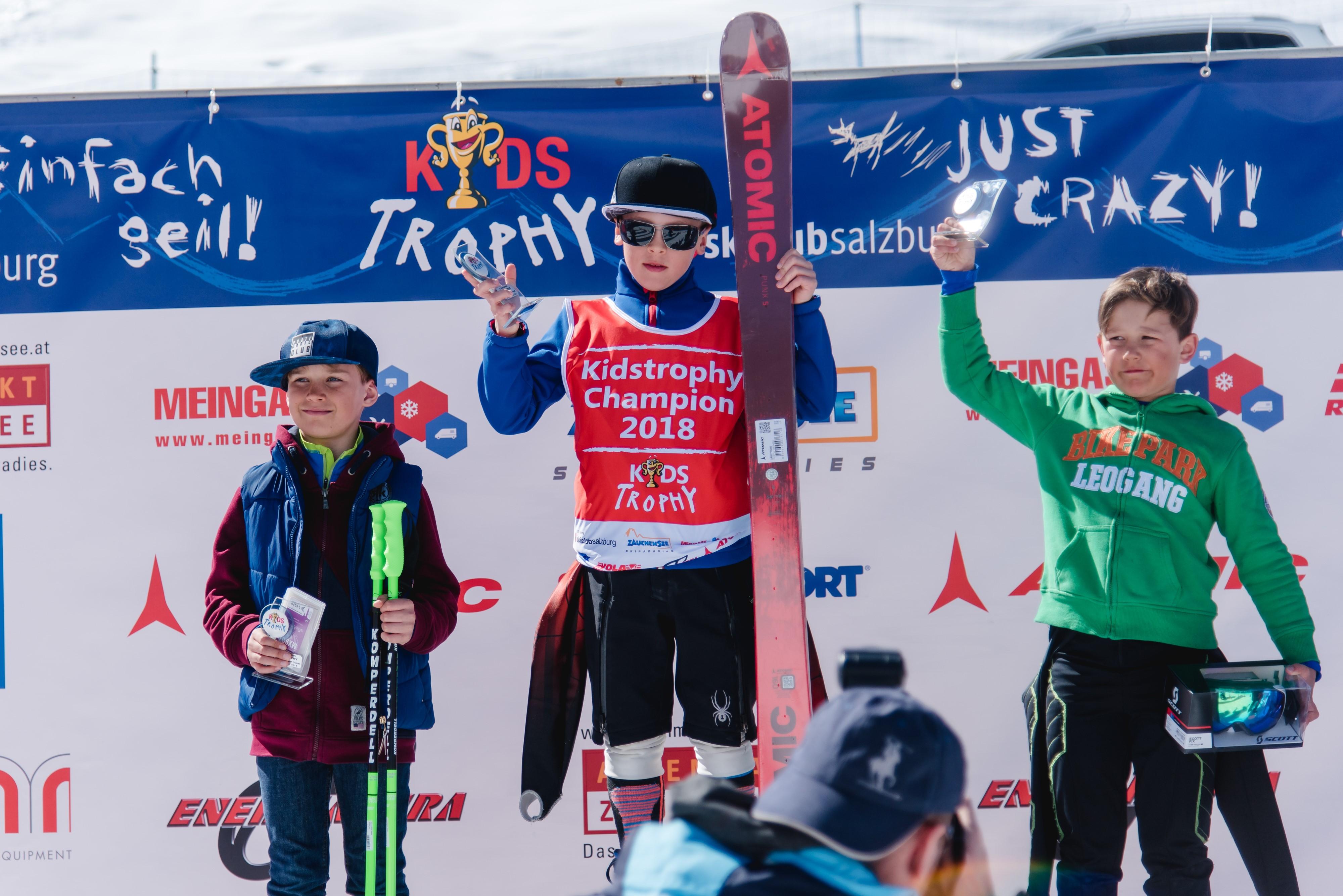 Dominic Berger gewinnt Kidstrophy in Zauchensee