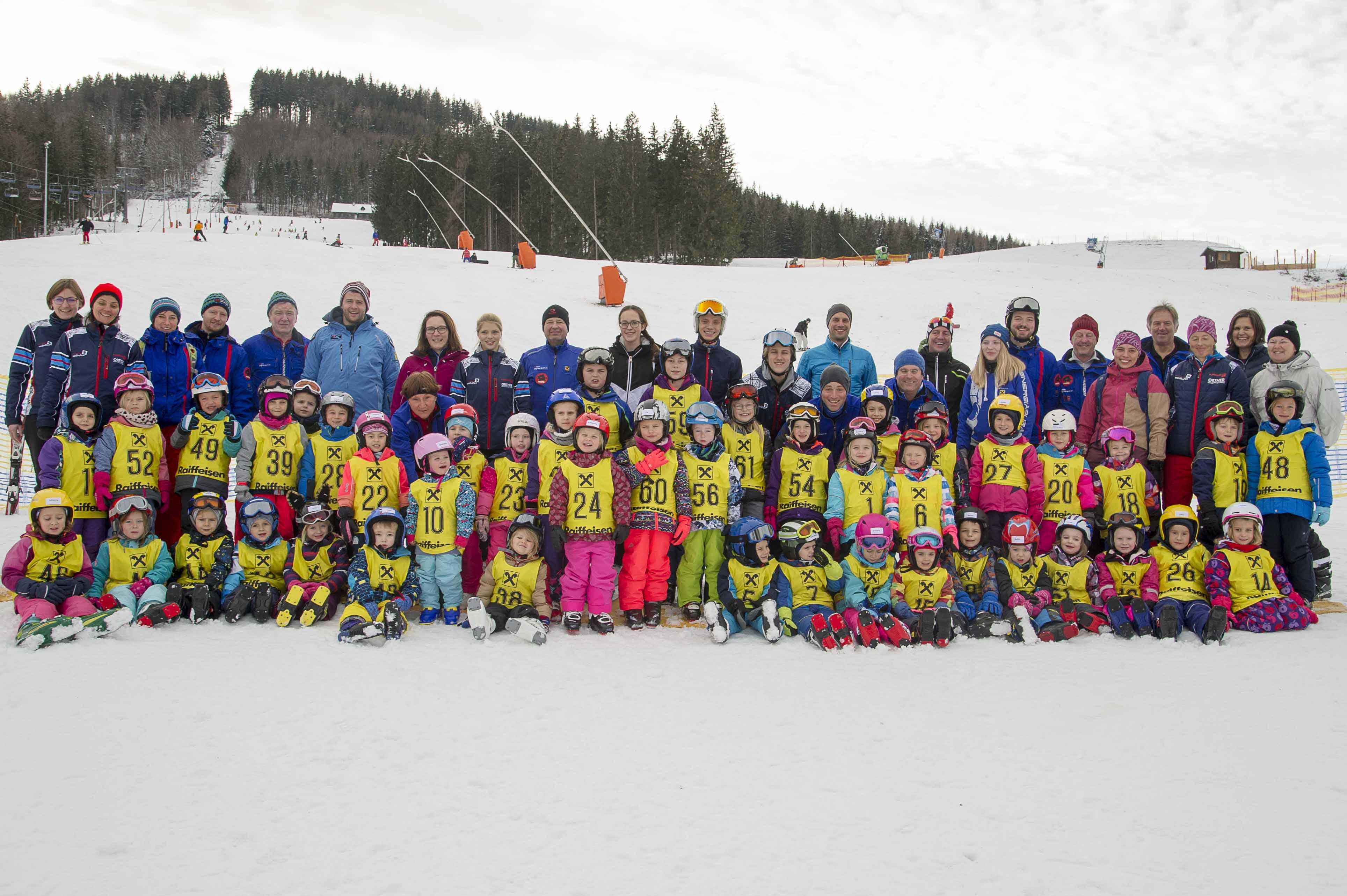 Kleines Schneeweihnachtswunder ermöglichte den Schi- und Snowboardkurs 2018