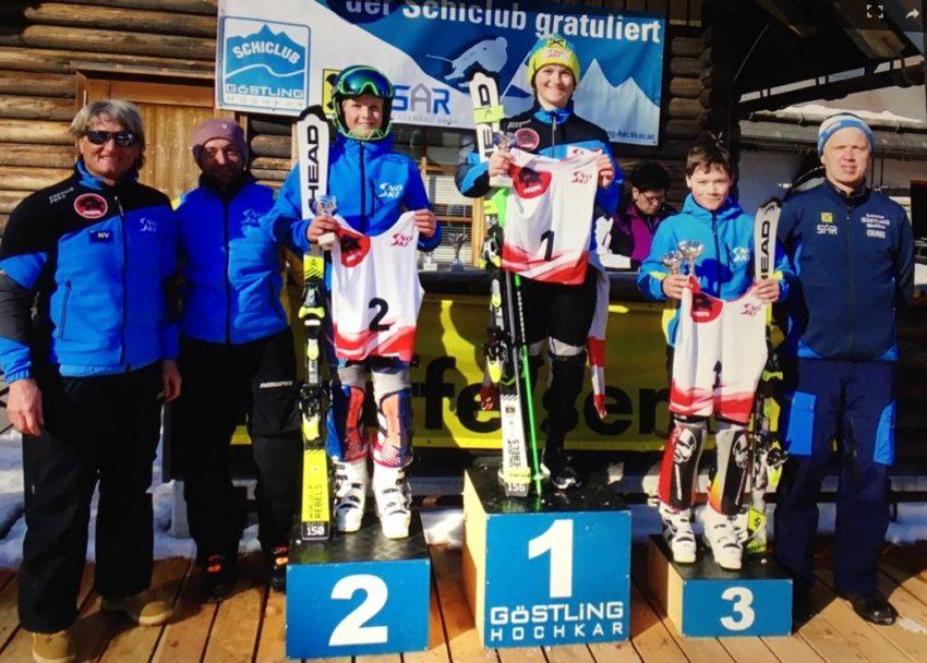 Stephan Koch gewinnt Schülerslalom am Hochkar