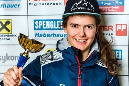 Österreich. Schülertestrennen in Dienten