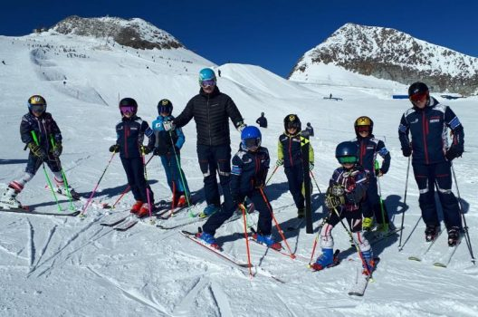 Training der Sportunion SKI-Kids!