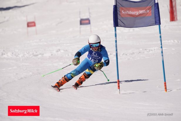 Thomas Heigl schnellster Nachwuchs-Racer beim SalzburgMilch Kids Cup in Annaberg
