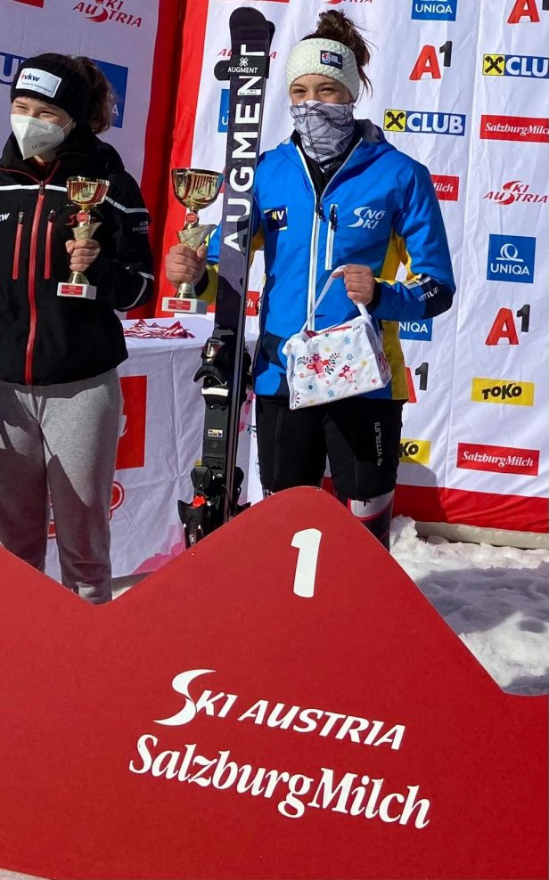 Romy Sykora gewinnt sensationell die Klasse S14 bei den ÖSV Schülermeisterschaften Alpin im RSL